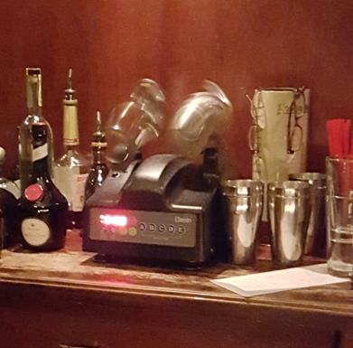Ramos Gin Fizz, Shaken at the Velvet Tango Room, Cleveland