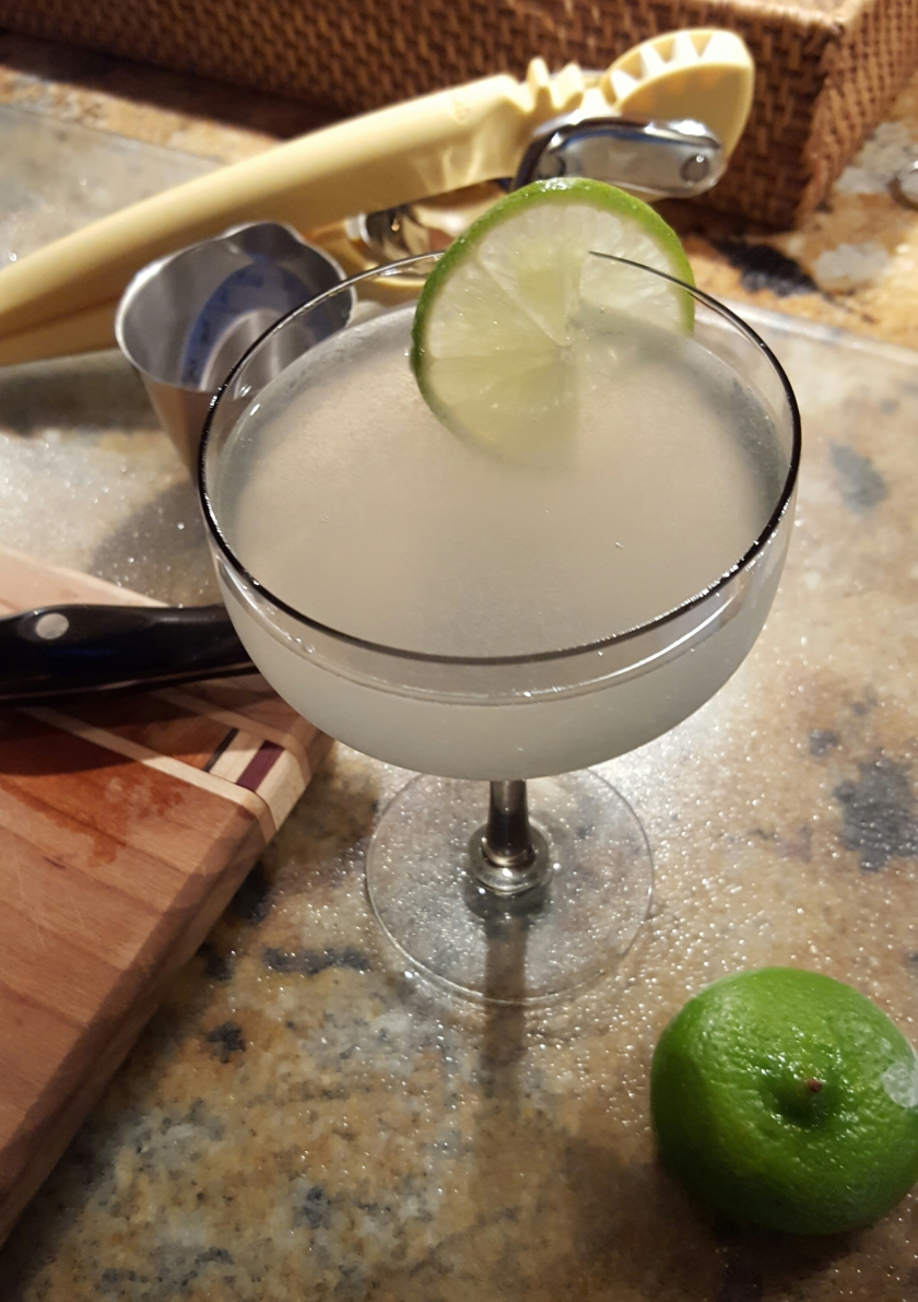 Of all the rum joints in the world….the Casablanca cocktail